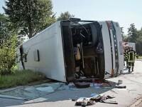 Zeci de răniți, după un accident în Germania. Majoritatea sunt români