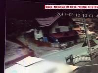 Accident grav în Neamț, surprins de camerele de filmare