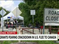 Fenomen fără precedent în Canada. Refugiaţi din Siria, Yemen sau Haiti, stabiliţi în SUA, cer azil