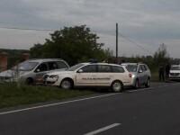 Focuri de armă în Timiș pentru prinderea unor migranți ilegali. Un polițist a fost rănit