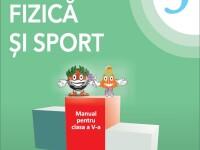 Manualele de sport pentru clasa a V-a au fost tipărite. Cum arată cartea