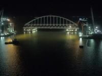 Podul care va lega Rusia de Crimeea, construit în proporție de 50%