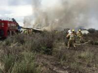 Cel puțin 17 persoane au murit după ce un avion de mici dimensiuni s-a prăbușit. VIDEO