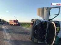 Ce au descoperit polițiștii despre șoferul de tractor care a provocat accidentul din Buzău