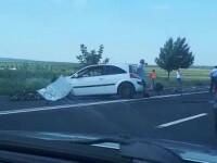 Un mort și 4 răniți într-un accident la ieșire din Râmnicu Sărat. Cauza tragediei