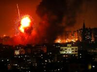 Netanyahu cere armatei să continue atacurile contra palestinienilor.