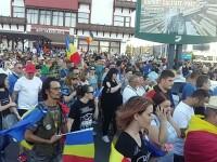 Peste 15.000 de persoane au protestat, sâmbătă, în marile orașe din țară. VIDEO