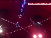 Incident la Circul Național din Ungaria. Un acrobat a căzut de la înălțime