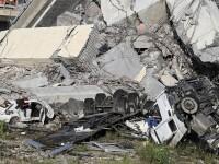 """Viaduct prăbușit în Genova: cel puțin 35 de morți. """"Ca și cum o bombă a lovit orașul"""""""