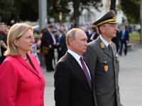 Putin vine cu un cadou special la nunta şefei diplomaţiei austriece, Karin Kneissl
