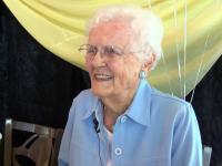 Unde și-a petrecut ziua de naștere o femeie de 101 ani. Merge acolo de 20 de ani