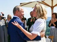"""Cancelarul Sebastian Kurz, despre fotografia cu Putin la nunta ministrului de Externe: """"Poziția noastră nu se schimbă"""""""