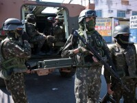 14 oameni uciși în favelele din Rio de Janeiro, după intervențiile poliției și armatei