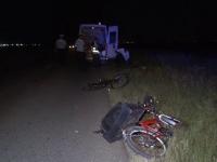 Bicicliști loviți de mașină, când se întorceau de la muncă. Șoferul i-a văzut în ultimul moment