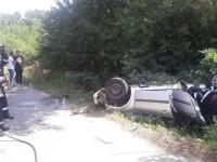 Accident grav în Dâmbovița. Un copil de 8 ani este în comă