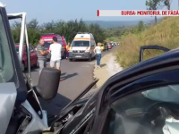 Accident grav la Brașov. O persoană a murit, trei au fost rănite