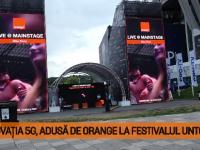 (P) Inovaţia 5G, adusă de Orange la festivalul Untold