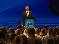Iohannis și-a anunțat candidatura la prezidențiale cu atacuri în serie la adresa PSD