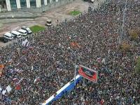 Zeci de mii de oameni, pe străzile din Moscova. Protestatarii cer alegeri libere