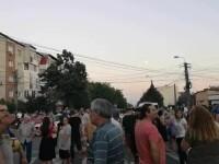 Alimentarea cu energie electrică reluată după 30 de ore într-un cartier timișorean. Oamenii au protestat în stradă