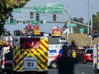 Schimb de focuri pe autostradă. Atacatorul și un polițist au fost uciși