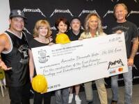 Suma fabuloasă donată de Metallica în 25 de concerte susţinute în Europa