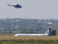 Probleme la un alt zbor al companiei al cărei avion a aterizat forţat în porumb