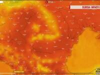 România, lovită de un val de căldură venit din Africa. Temperaturi cu 8 grade mai mari