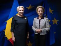 Dăncilă afirmă că președintele CE i-a cerut să facă o propunere de comisar european