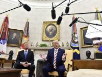 Trump l-a sunat pe Iohannis. Președintele SUA și-a manifestat intenția de a trimite ventilatoare în România