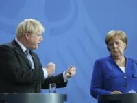 """Avertismentul lui Merkel pentru Boris Johnson: """"Este extrem de improbabil"""""""