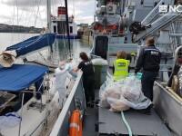 Captură uriașă de droguri pe un yaht. Cum a fost găsită cocaina de 65 milioane de euro