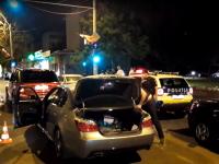 VIDEO. Polițiștii au organizat filtre masive în București după moartea lui Pian