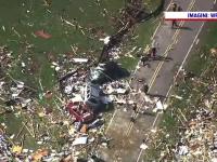 Uraganul Isaias a provocat mai multe tornade în SUA. Pagubele materiale sunt enorme