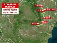 Demnitarii au planuri mari cu infrastructura țării. Cum ar trebui să arate autostrăzile Unirii și Moldovei