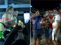 Ce au făcut mai mulți turiști din Vama atunci când angajații au vrut să închidă terasele la ora 23:00