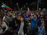 Proteste masive în Bulgaria. Manifestanții cer demisia Guvernului