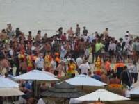 VIDEO. Bătaie generală pe o plajă din Belgia. Autoritățile au anunțat interzicerea turismului de o zi