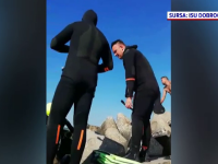 Steag roșu pe litoral. Un tânăr s-a înecat la Olimp, iar un alt turist a dispărut la Neptun