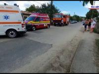 Un bărbat din Argeș a murit într-un incendiu, după ce a dat foc vegetației uscate de lângă casă
