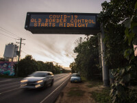 Creştere record a numărului de decese de Covid-19 în Australia. Granițele vor rămâne închise până la finalul anului