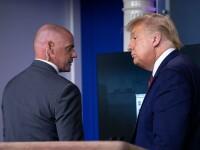 Incident de securitate la Casa Albă: Trump a părăsit brusc conferinţa de presă