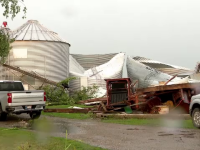 O furtună cu o putere similară cu a unui uragan a făcut prăpăd în centrul SUA