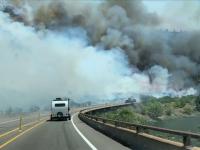 Un parc național din Colorado, SUA, afectat de un puternic incendiu de vegetație