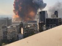 VIDEO. Noi imagini în slow-motion din momentul exploziei devastatoare din Beirut
