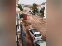 Inundații grave în Spania. Peste 3.500 de militari au fost mobilizați