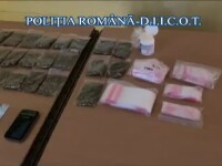 Lovitură pentru o rețea de trafic de droguri care acționa în Galați și Buzău