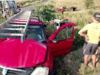 Tânără grav rănită după ce nu s-a asigurat la schimbarea direcției de mers cu mașina