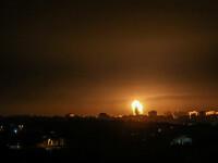 Noi bombardamente israeliene asupra poziţiilor Hamas în Fâşia Gaza, ca represalii la baloanele incendiare
