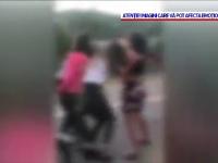 VIDEO. Bătaie șocantă între adolescente, filmată în Dâmbovița. Ce a provocat altercația